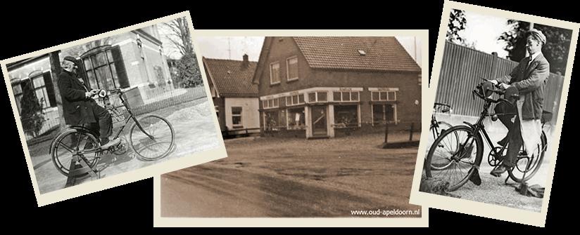Harleman Tweewielers, al bijna 100 jaar in Apeldoorn.